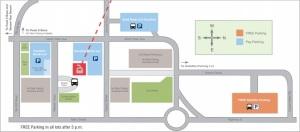 Breckenridge parking map